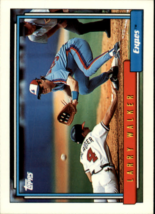 1992 Topps #531 Larry Walker