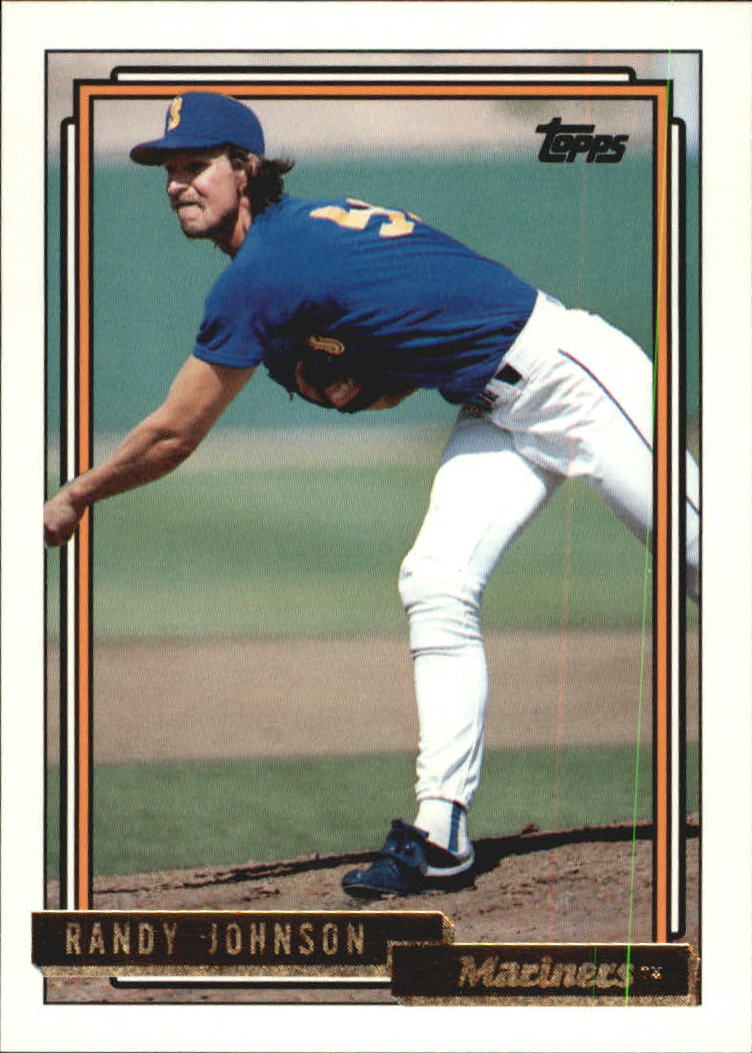 1992 Topps Gold #525 Randy Johnson