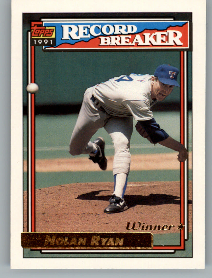 1992 Topps Gold Winners #4 Nolan Ryan RB