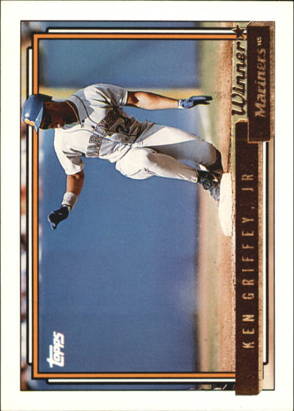 1992 Topps Gold Winners #50 Ken Griffey Jr.