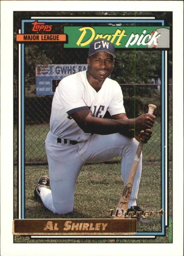 1992 Topps Gold Winners #306 Al Shirley