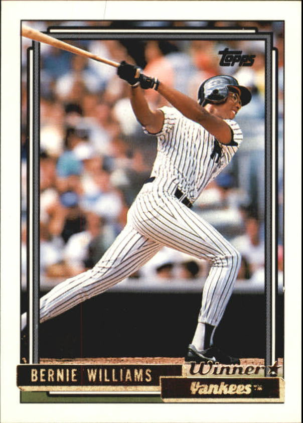 1992 Topps Gold Winners #374 Bernie Williams