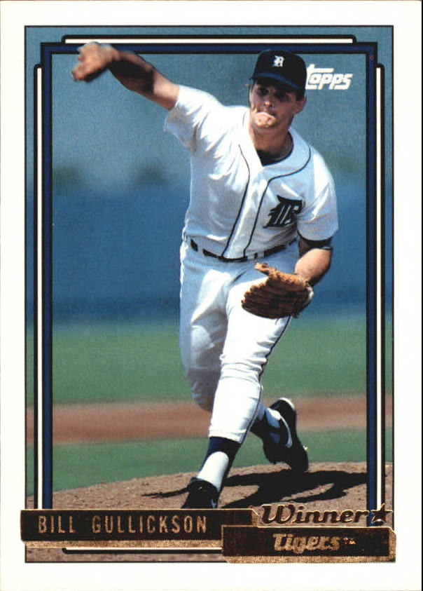 1992 Topps Gold Winners #508 Bill Gullickson