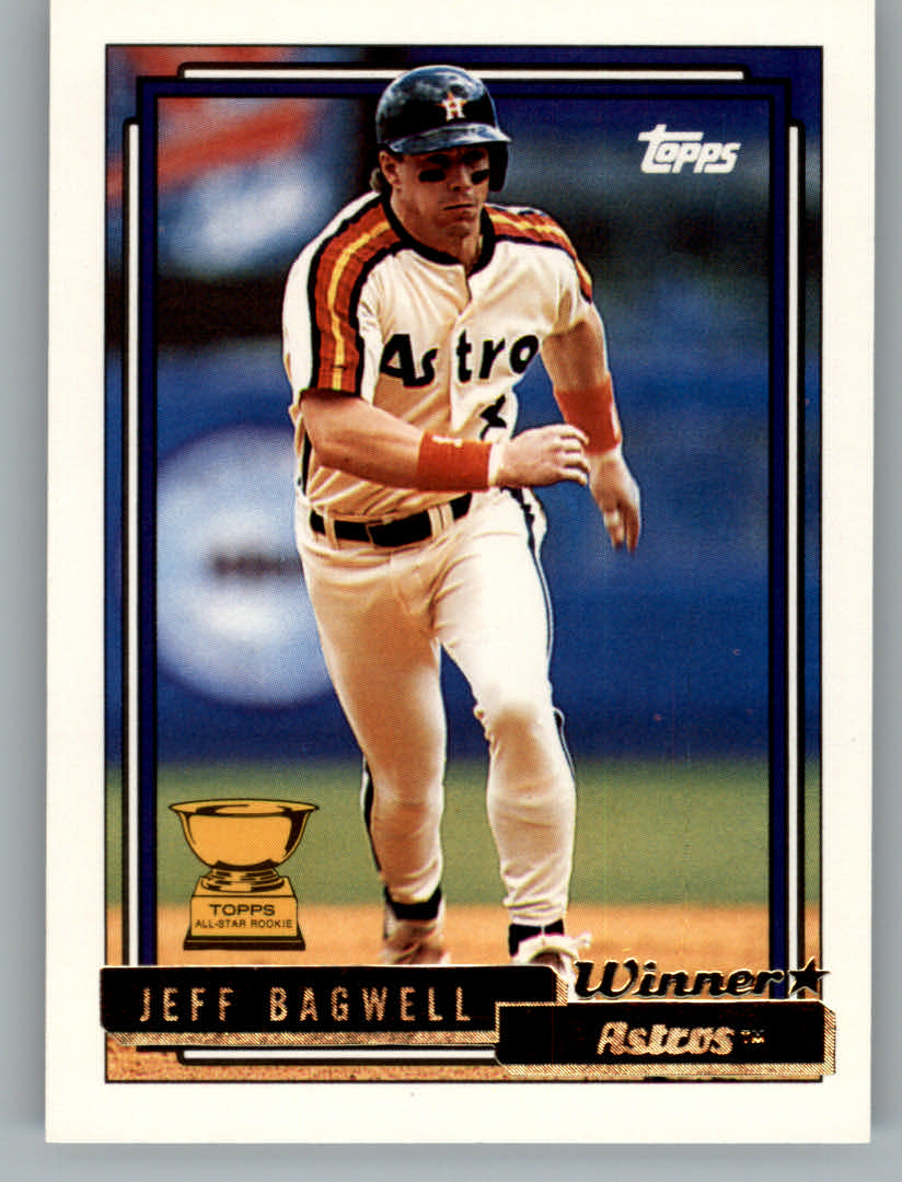1992 Topps Gold Winners #520 Jeff Bagwell