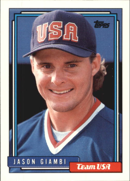 1992 Topps Traded #40T Jason Giambi USA