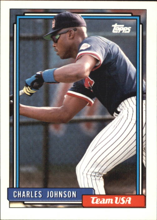1992 Topps Traded #56T Charles Johnson USA