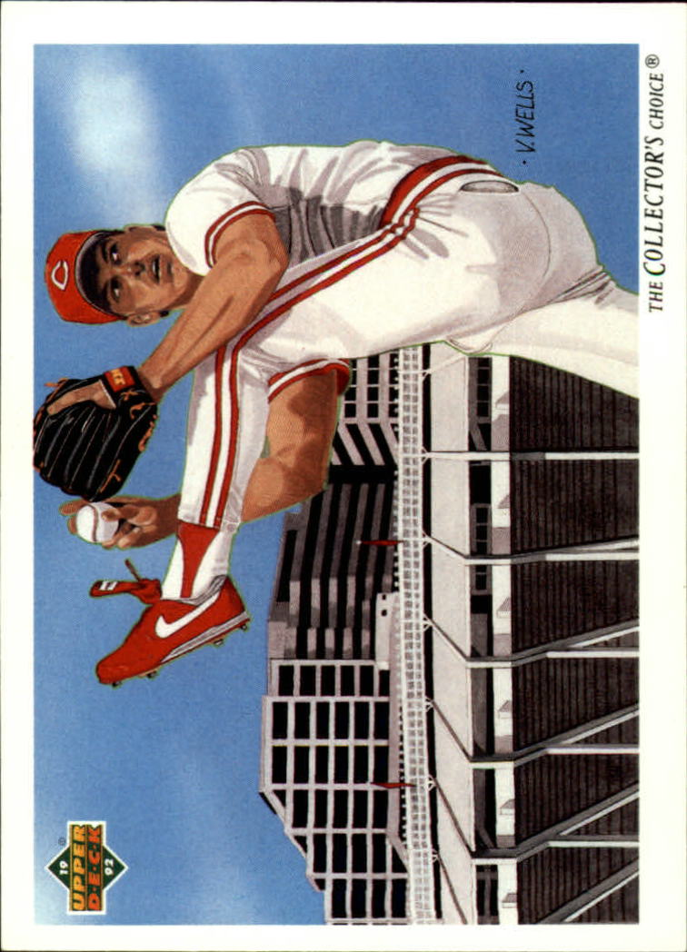 1992 Upper Deck #30 Rob Dibble TC/Cincinnati Reds