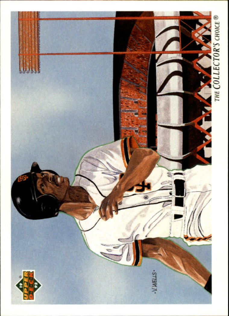 1992 Upper Deck #34 Willie McGee TC/San Francisco Giants