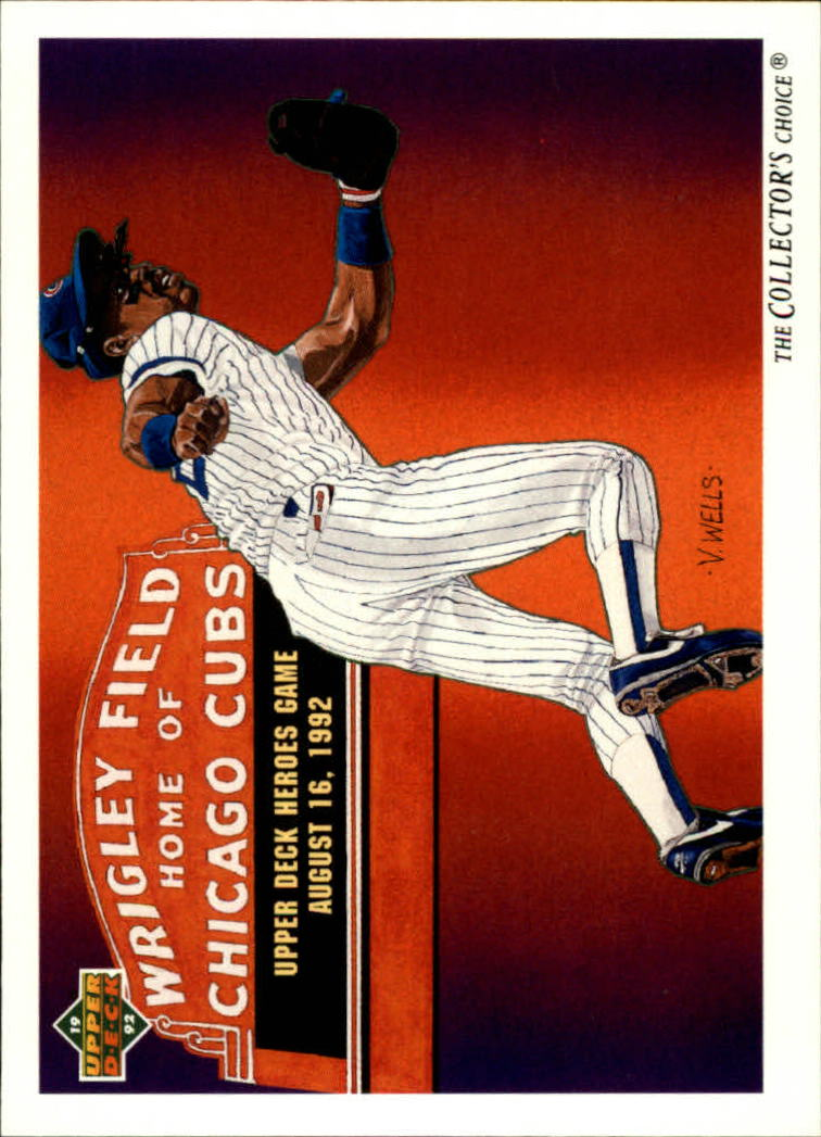 1992 Upper Deck #35 Shawon Dunston TC/Chicago Cubs