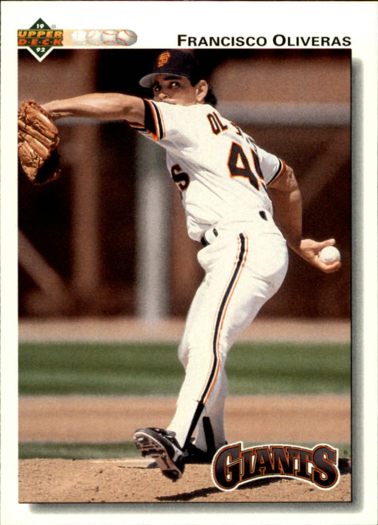 1992 Upper Deck #49 Francisco Oliveras