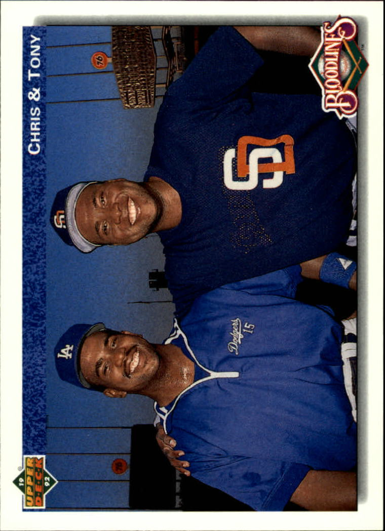 1992 Upper Deck #83 Tony/Chris Gwynn