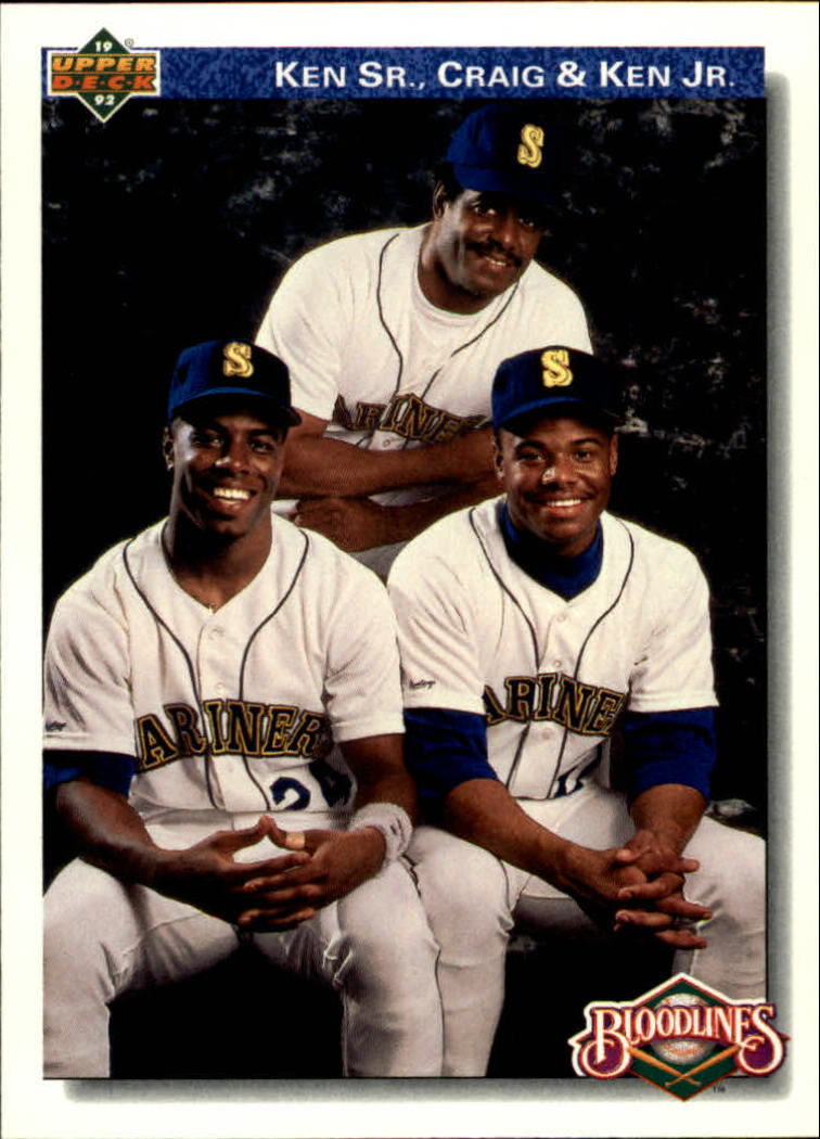1992 Upper Deck #85 K.Griffey Jr. w/Family