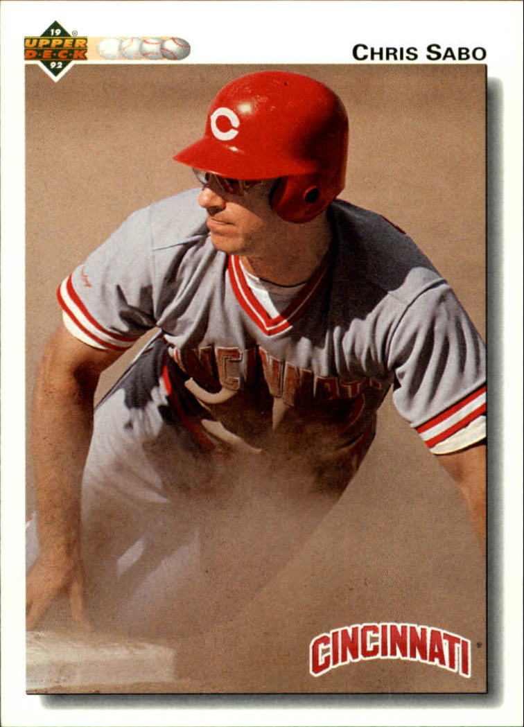 1992 Upper Deck #123 Chris Sabo