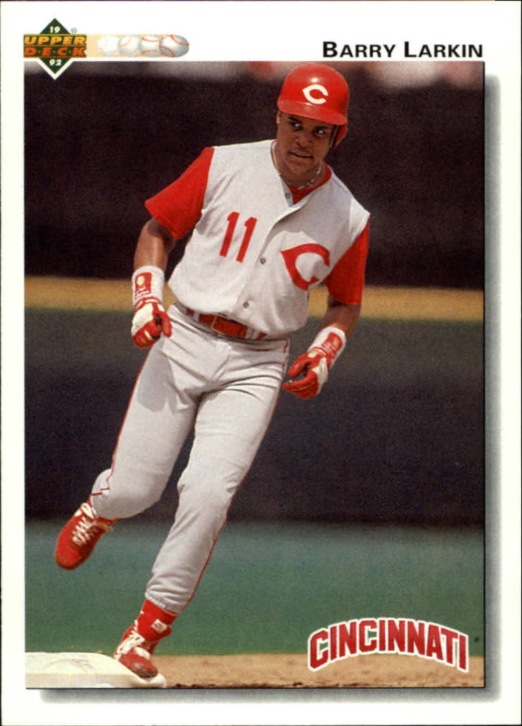 1992 Upper Deck #144 Barry Larkin