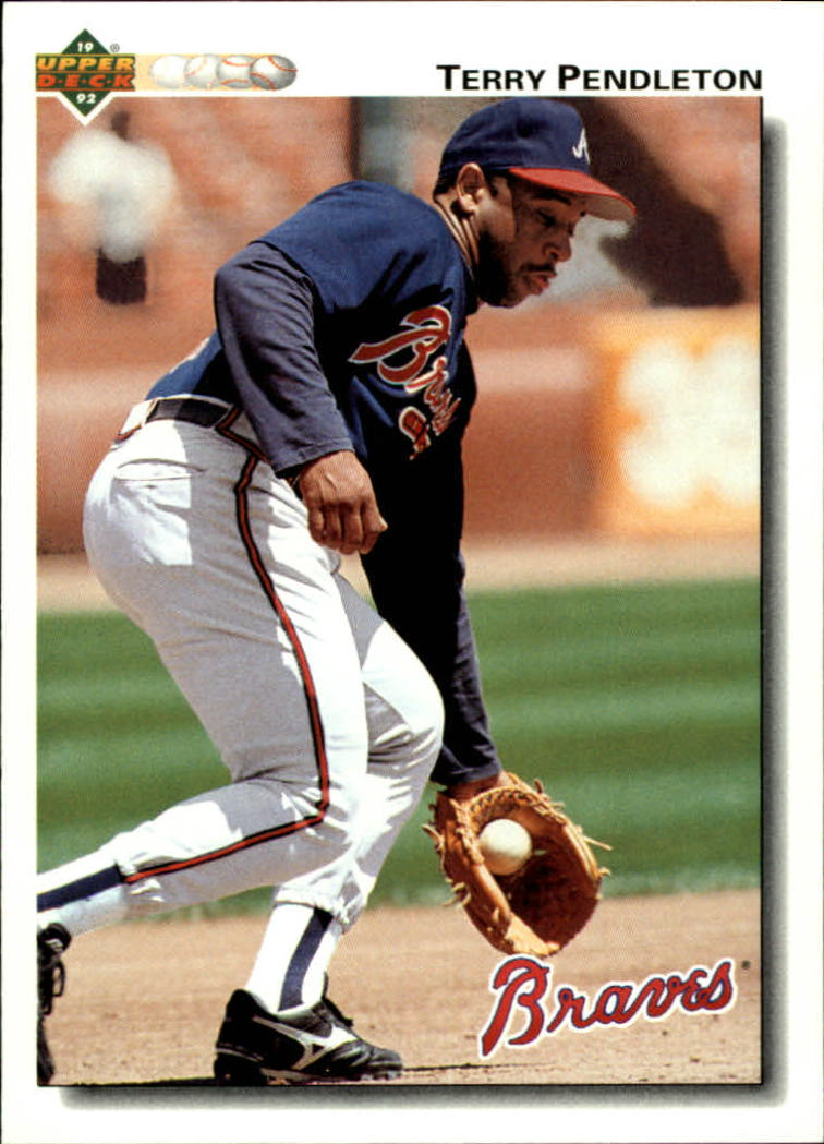 1992 Upper Deck #229 Terry Pendleton