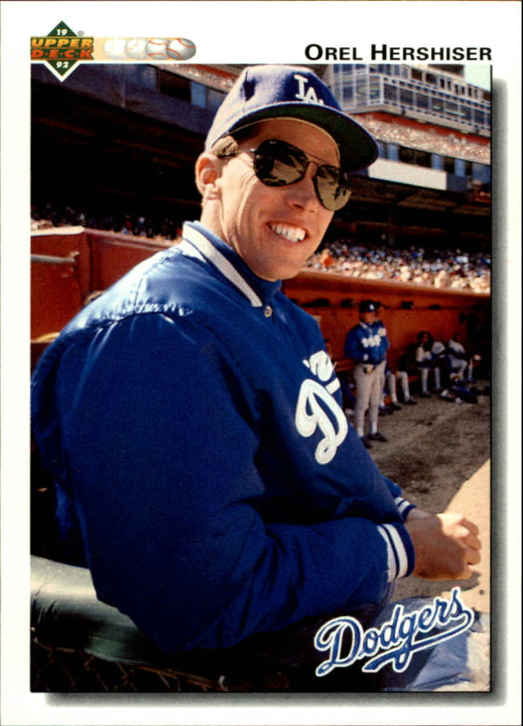 1992 Upper Deck #261 Orel Hershiser