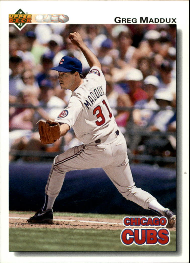 1992 Upper Deck #353 Greg Maddux