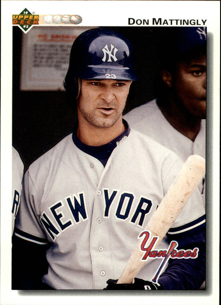 1992 Upper Deck #356 Don Mattingly