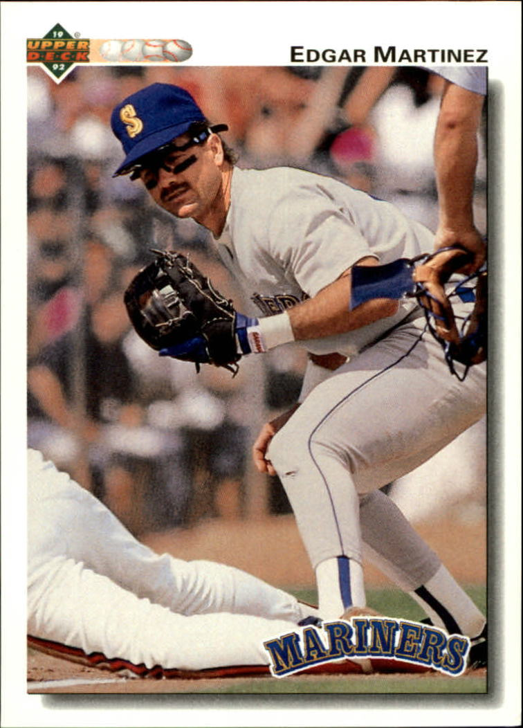 1992 Upper Deck #367 Edgar Martinez