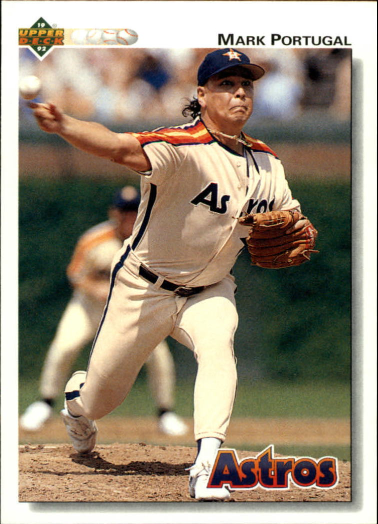 1992 Upper Deck #448 Mark Portugal