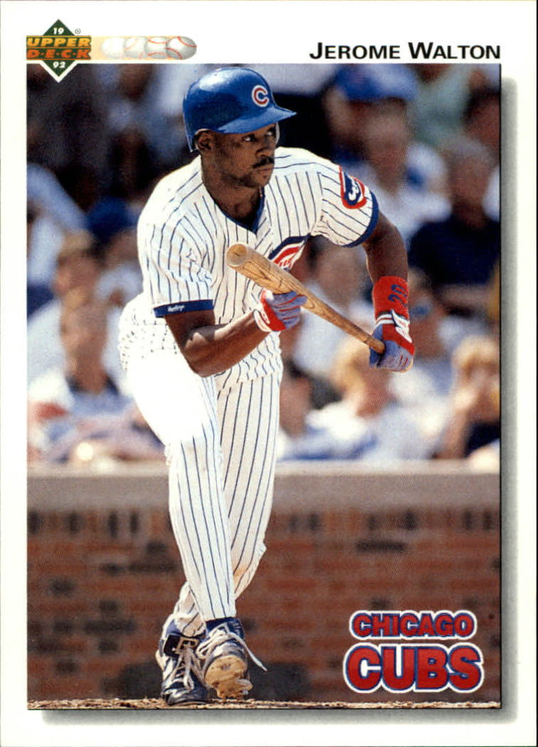 1992 Upper Deck #463 Jerome Walton