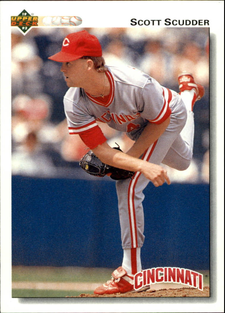 1992 Upper Deck #485 Scott Scudder