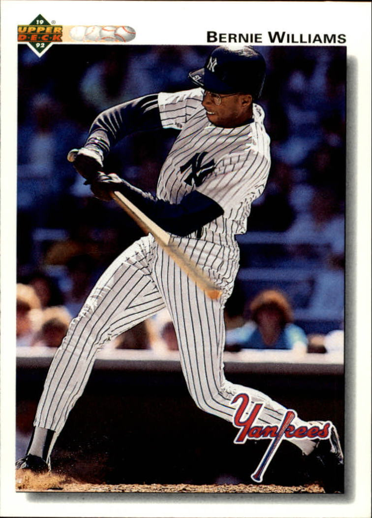 1992 Upper Deck #556 Bernie Williams