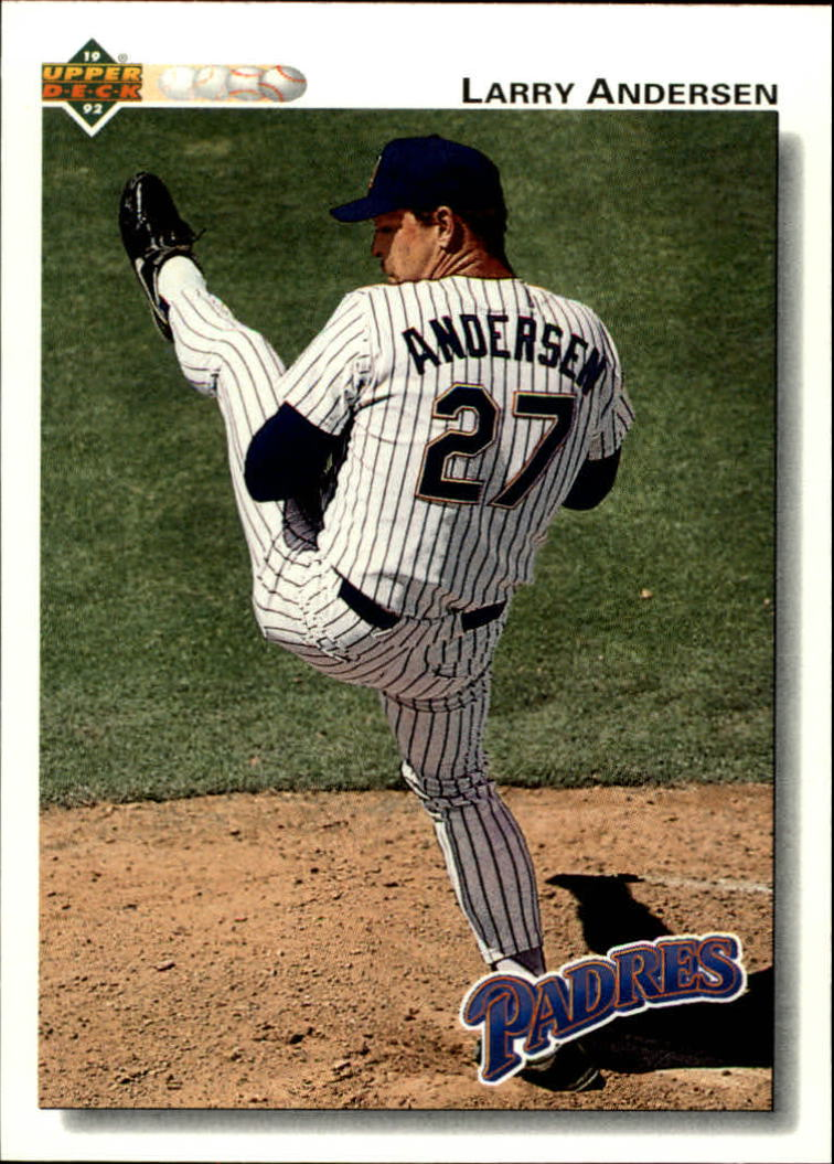 1992 Upper Deck #587 Larry Andersen