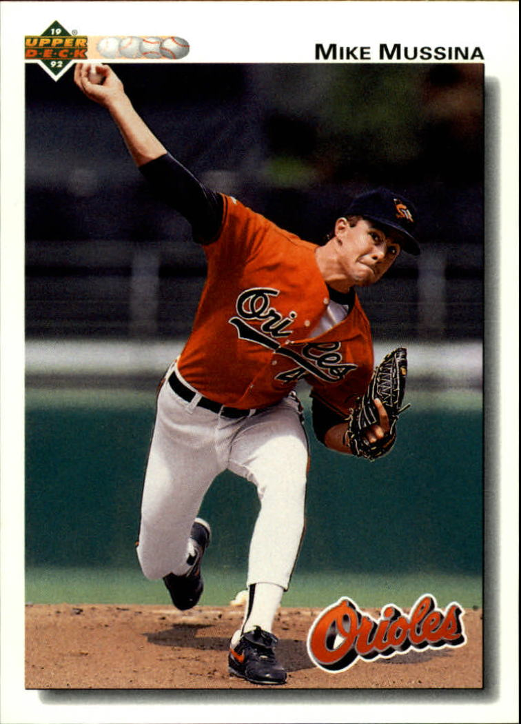 1992 Upper Deck #675 Mike Mussina
