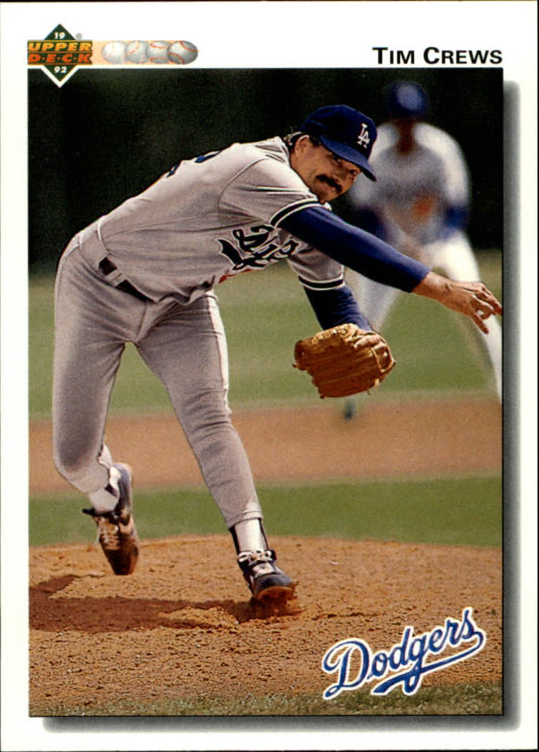 1992 Upper Deck #687 Tim Crews