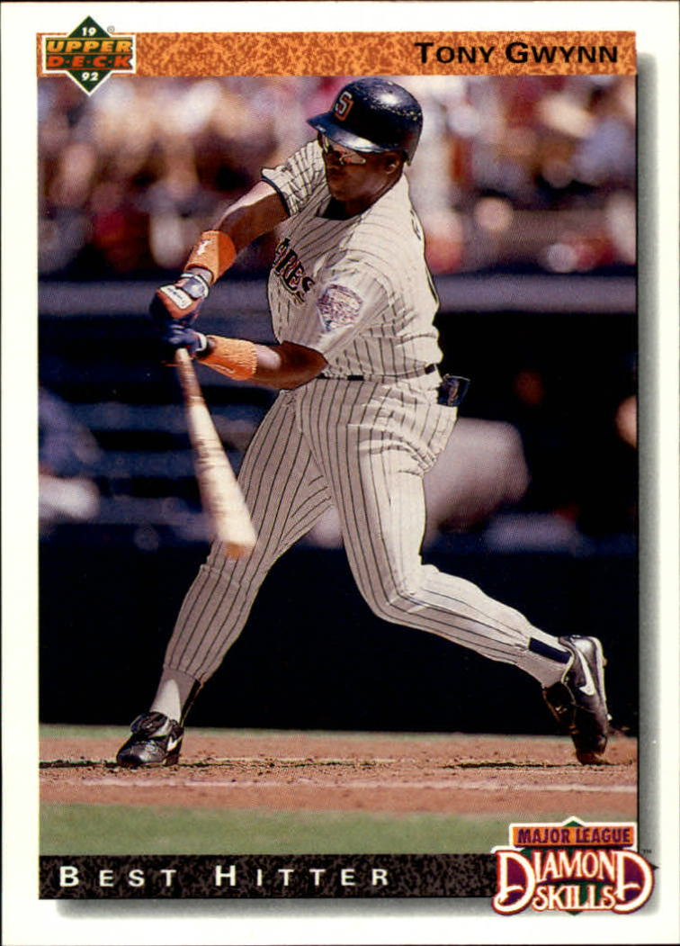 1992 Upper Deck #717 Tony Gwynn DS