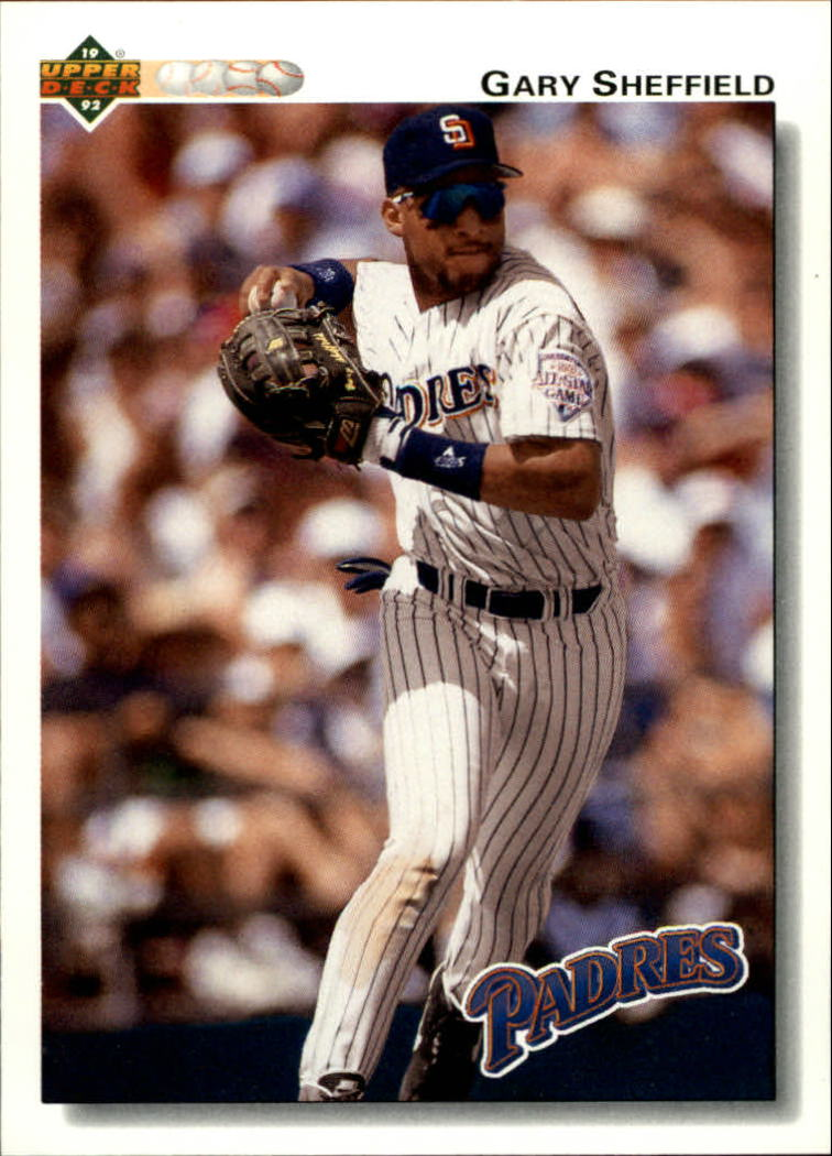 1992 Upper Deck #745 Gary Sheffield