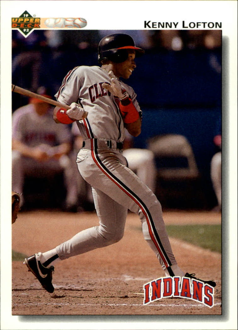 1992 Upper Deck #766 Kenny Lofton