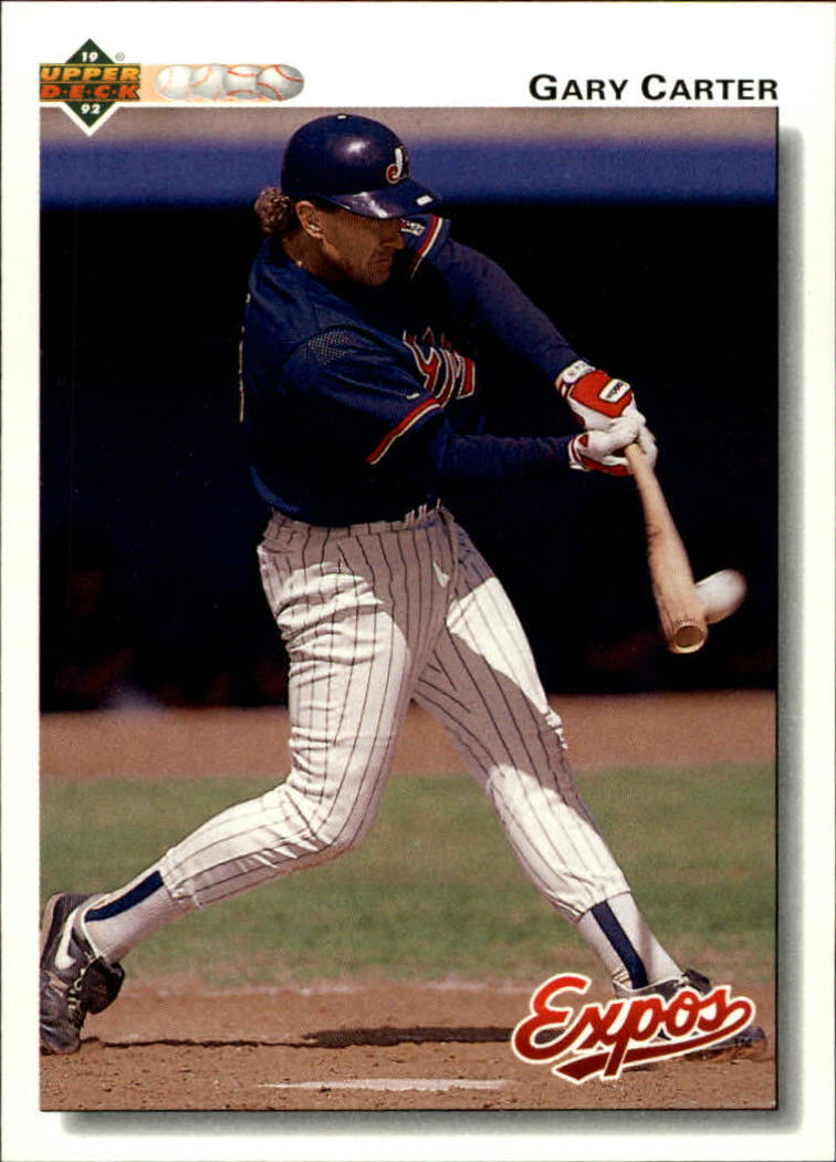 1992 Upper Deck #767 Gary Carter