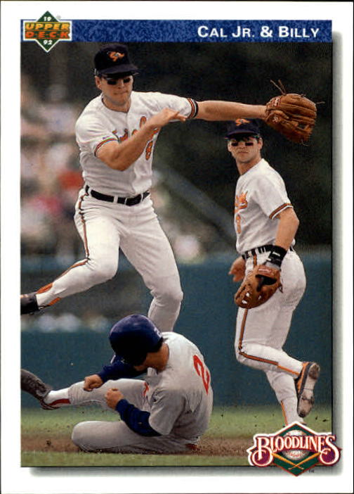 1992 Upper Deck Gold Hologram #82 Ripken Brothers
