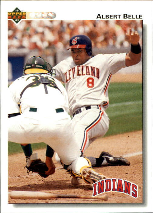1992 Upper Deck Gold Hologram #137 Albert Belle