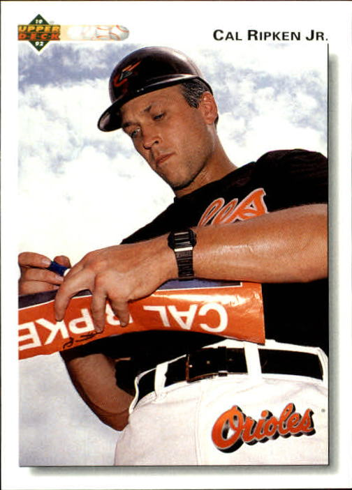 1992 Upper Deck Gold Hologram #165 Cal Ripken