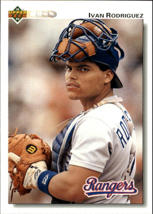 1992 Upper Deck Gold Hologram #245 Ivan Rodriguez