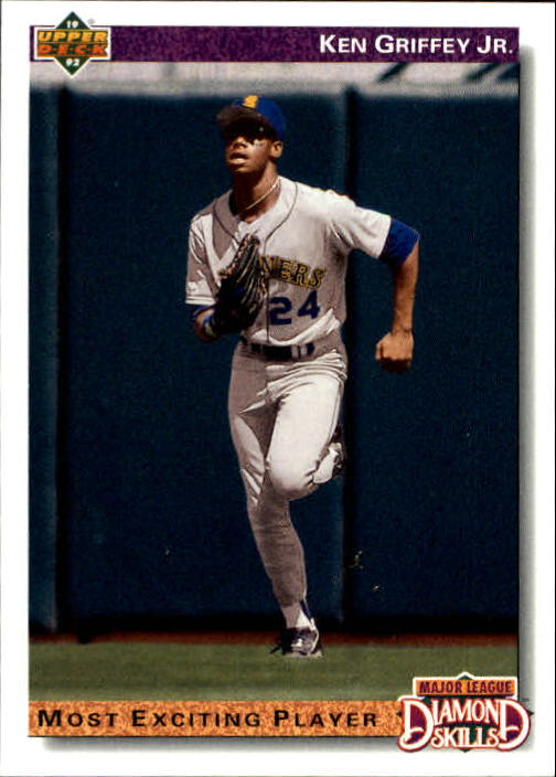 1992 Upper Deck Gold Hologram #650 Ken Griffey Jr. DS