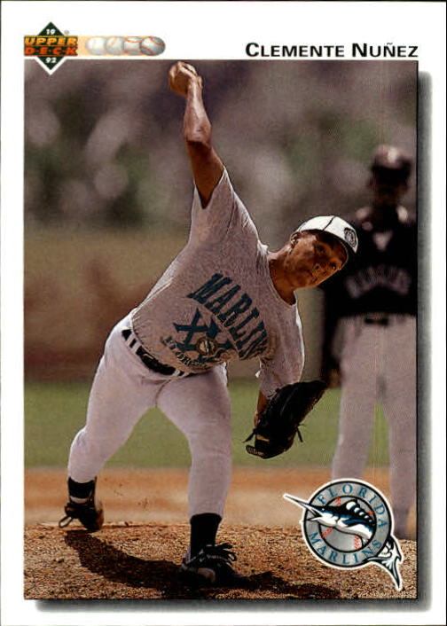 1992 Upper Deck Gold Hologram #701 Clemente Nunez