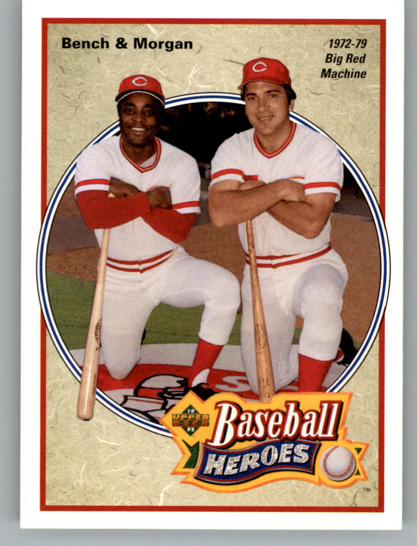 1992 Upper Deck Bench/Morgan Heroes #43 J.Bench/J.Morgan front image