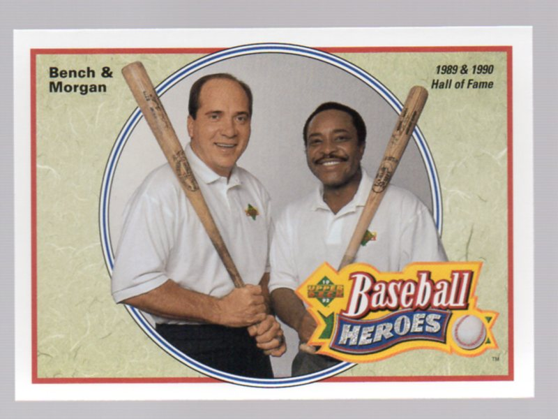 1992 Upper Deck Bench/Morgan Heroes #44 J.Bench/J.Morgan