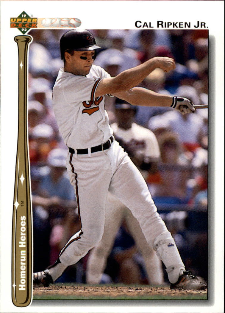 1992 Upper Deck Home Run Heroes #HR4 Cal Ripken