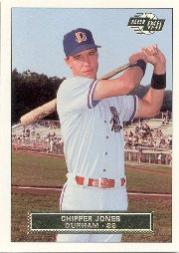 1992-93 Excel #2 Chipper Jones