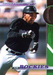1993 Rockies Stadium Club #11 Andres Galarraga