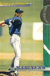 1993 Mariners Stadium Club #16 Randy Johnson