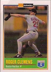 1993 Duracell Power Players I #1 Roger Clemens