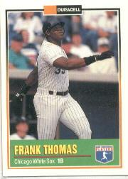 1993 Duracell Power Players I #2 Frank Thomas