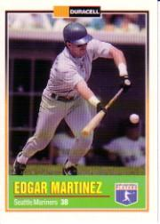 1993 Duracell Power Players I #6 Edgar Martinez