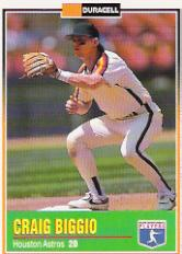 1993 Duracell Power Players I #7 Craig Biggio